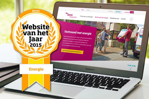 Website van het jaar: Geas.nl