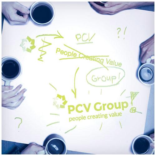 Restyling People Creating Value naar PCV Group
