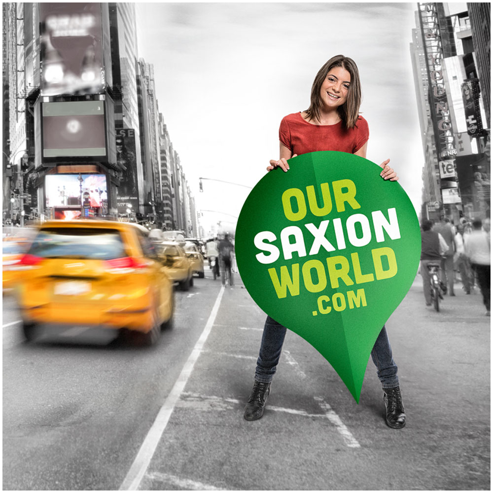 Link and explore. Our Saxion World